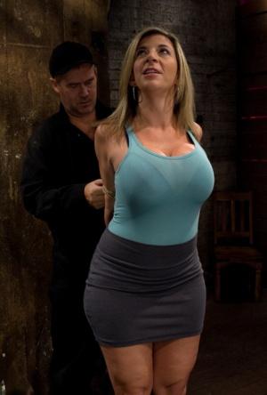 Huge Boobs Bondage Pics