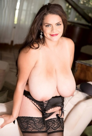 Huge Boobs Stockings Pics