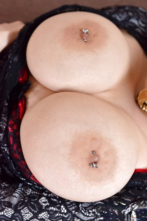 Huge Pierced Boobs  Pics