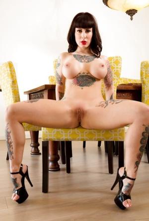 Huge Tattooed Boobs Pics