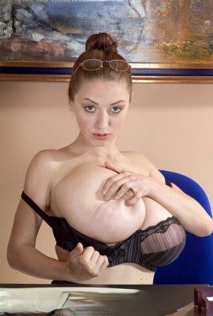 Huge Boobs Secretary Pics